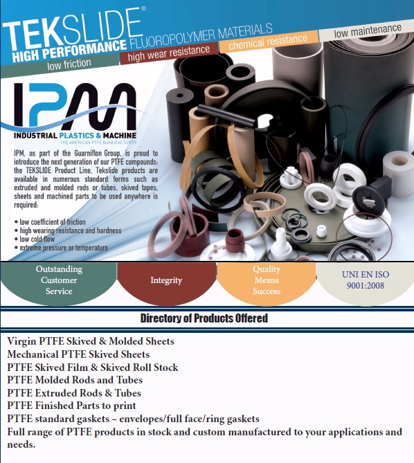 Tekslide PTFE Products